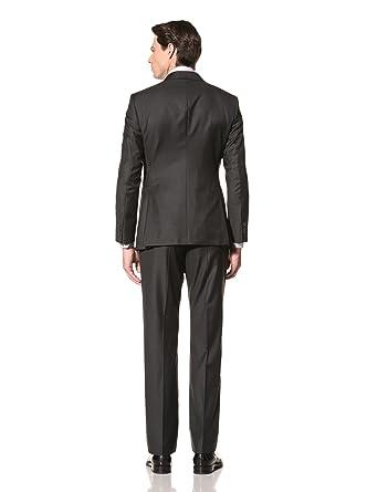 Amazon.com: Giorgio Armani de los hombres Suit, Traje, Gris ...