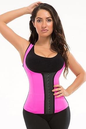1f8ac61f48d Trufigure Colombian Sport Chaleco Latex Vest w 3-Hooks - Pink - XXXL   Amazon.co.uk  Clothing