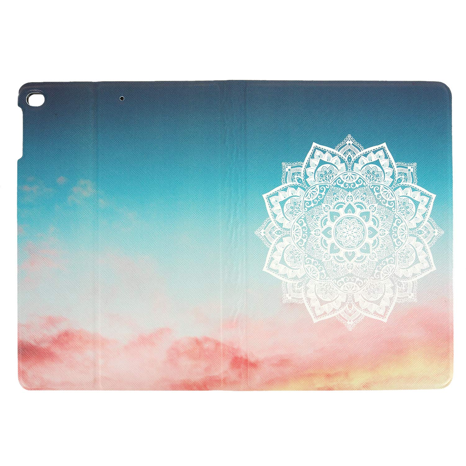 True Holiday iPad case 9.7 inch Ultra Slim Lightweight with Stand and Auto Wake Sleep function Protective Smart Cover Case for 9.7 inch 2017/2018 (mandala1)
