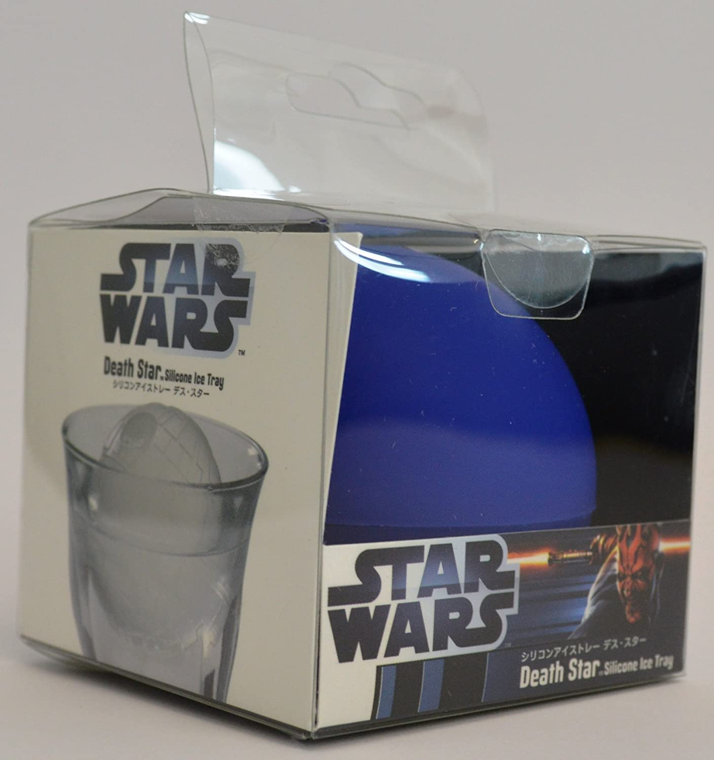 Jooks Ice Ball Mould Star Wars Death Star 3D Mould Silicone Prime Ice Sphere Maker Ice Cube Mould Tray