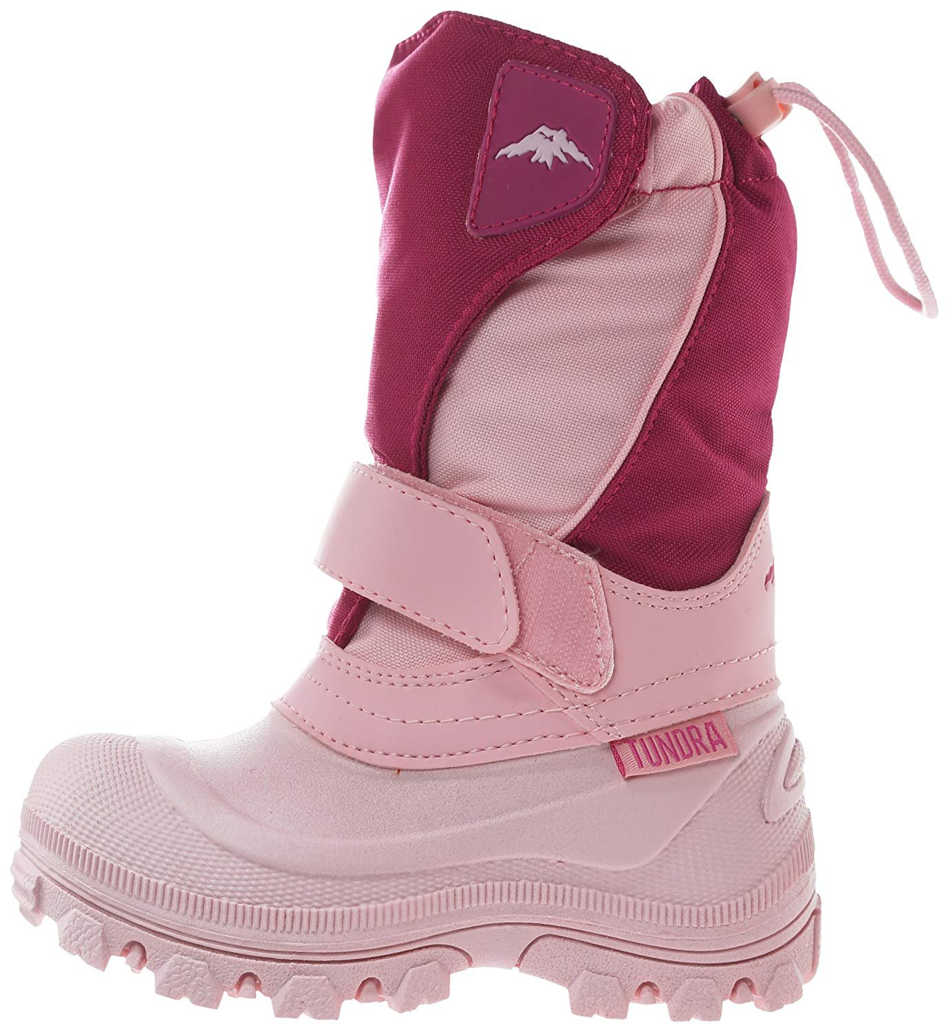Tundra Boots Toddler Quebec Wide - Pink/Fuchsia-8 W Tod, Pink/Fuchsia, 8 W Tod
