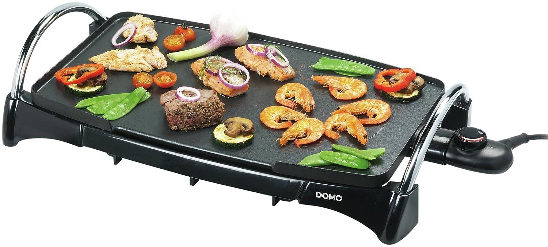 Domo DO8302TP Teppanyaki Grill, 2200 W, Black