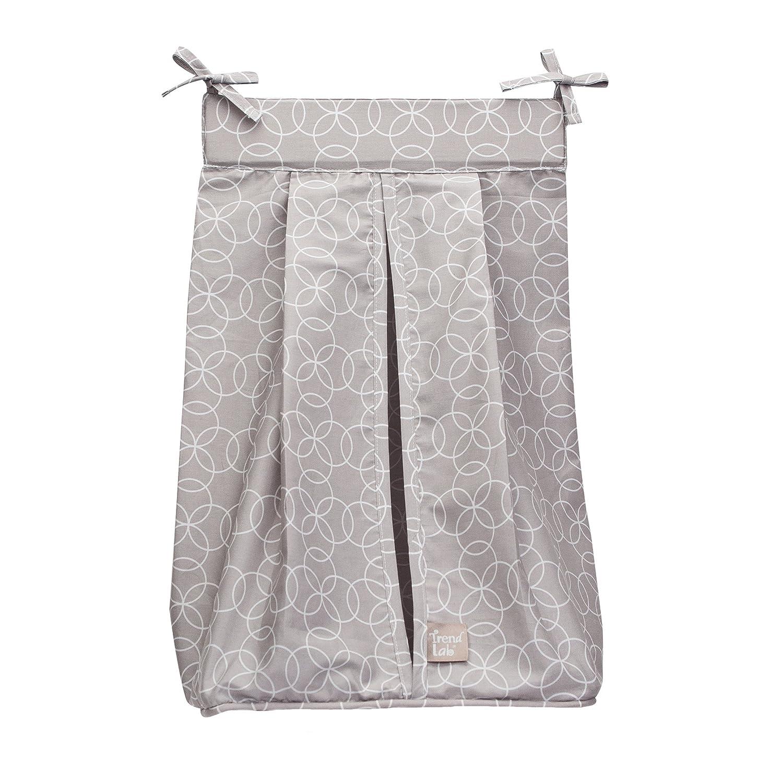 Trend Lab Circles Gray Diaper Stacker 100471