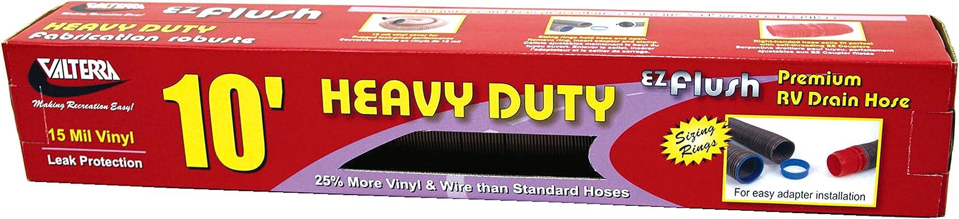 Valterra D04-0012 EZ Flush 10 Bronze Heavy Duty Drain Hose