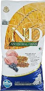 Farmina Lamb and Ancient Grains Medium/Maxi Breed Adult Dry Dog Food, 26.4 Pounds