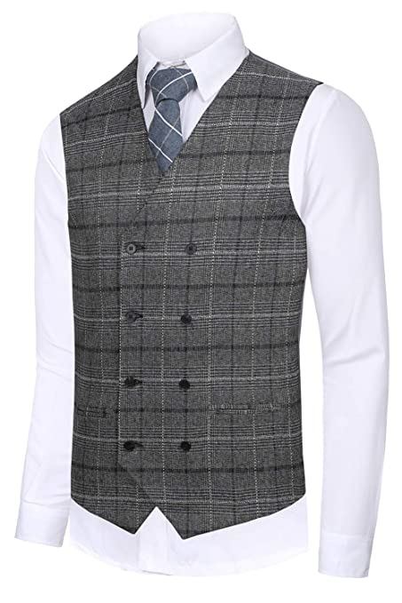 Men's Vintage Vests, Sweater Vests Hanayome Mens Gentleman Top Design Casual Waistcoat Business Suit Vest VS17 $29.90 AT vintagedancer.com