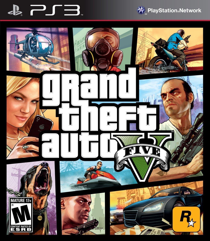 Amazon com: Grand Theft Auto V - PlayStation 3 [Download