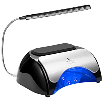 Amazon.com : USpicy 48W LED UV Nail Dryer Nail Lamp for Gel ...
