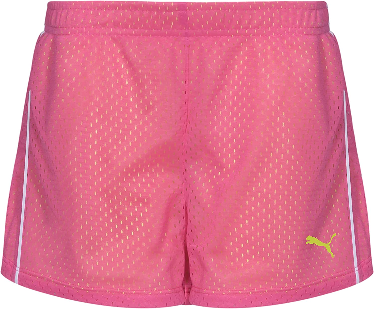 PUMA Girls' Active Mesh Short