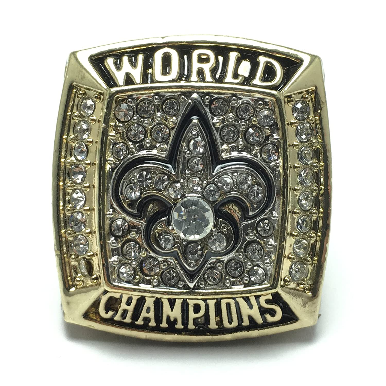 xliv orleans saints championship ring super new nfl rings bowl products world