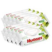 HUGGIES Natural Care Unscented Baby Wipes, 448 Count Deals