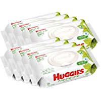 Huggies 8 Flip-top Packs Natural Care Unscented Baby Wipes (448 Count)
