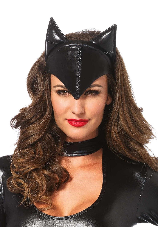 Leg Avenue Feline Femme Fatale Mask Black One Size Leg Avenue Costumes A104822001