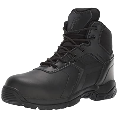 Battle OPS Men's 6-inch Waterproof Side Zip Tactical Boot Comp Safety Toe Bops6002 Military: Shoes