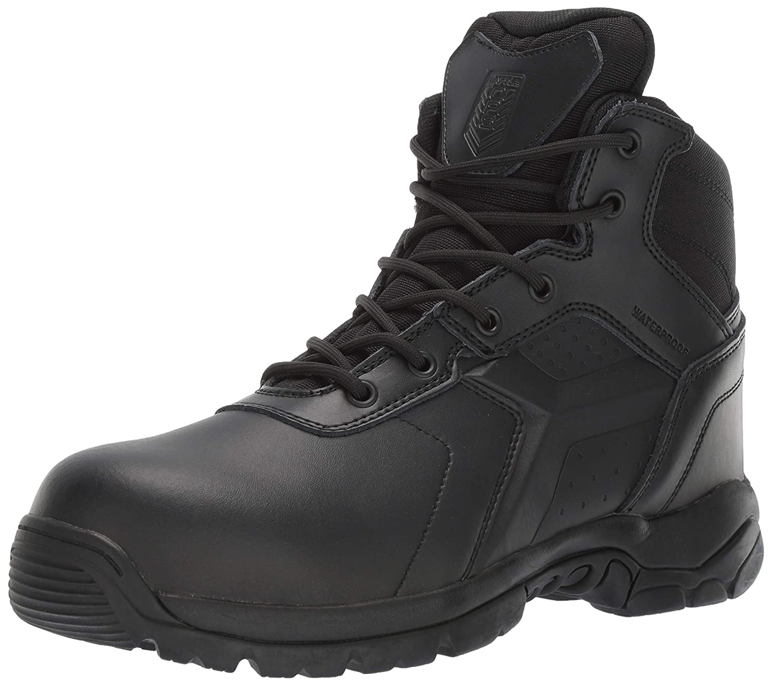 db4e09bc972 Battle OPS Men's 6-inch Waterproof Side Zip Tactical Boot Comp Safety Toe  Bops6002 Military