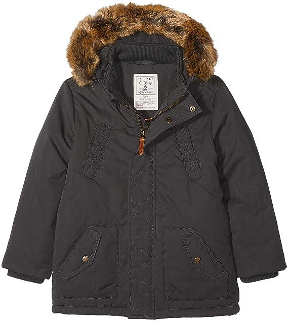 bae270669be8 Fat Face Boy s SALCOMBE Parka Coat