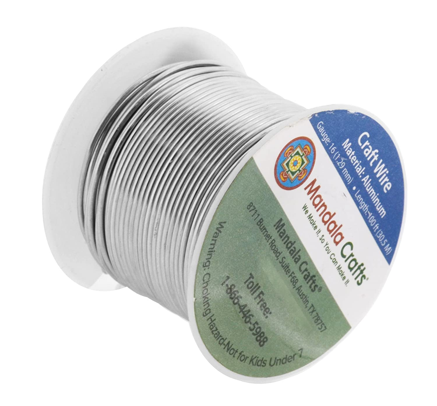 Awesome 12 Gauge Aluminum Craft Wire Crest - The Wire - magnox.info