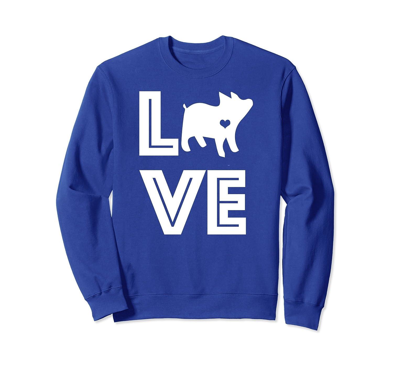 Cute Funny Unique Pot Belly Pig Lover Sweatshirt G002690-ln