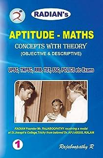 Buy TNPSC Mathematics Aptitude Test Guide (I, II, IIA, I, AO, III