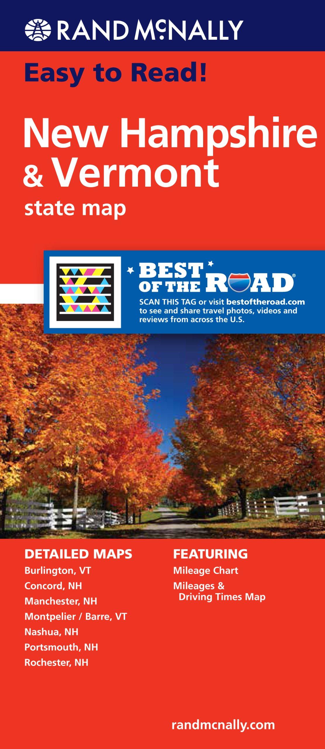 Rand McNally Easy Read Hampshire