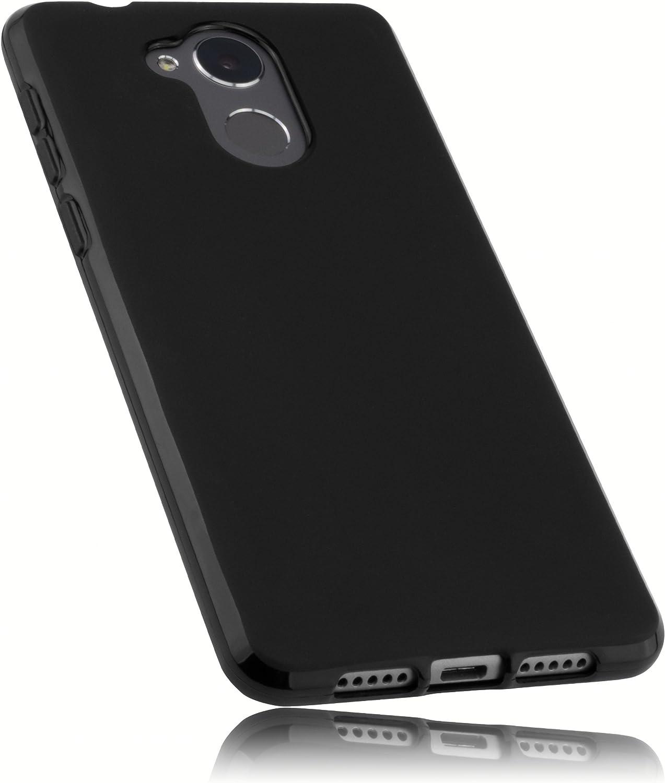 Mumbi Funda Compatible con Honor 6C Caja del teléfono móvil, Negro ...