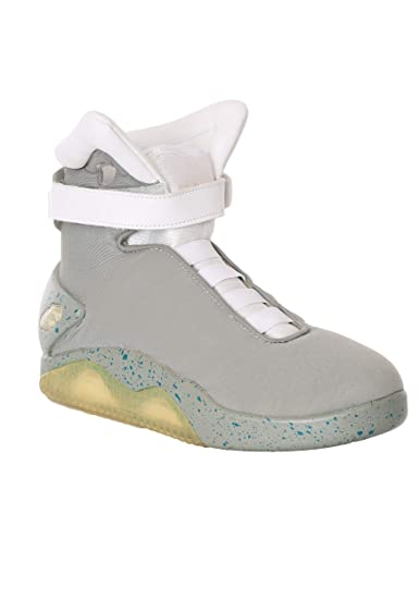 3c5aa0b3dff Back to the Future 2 Light Up Shoes Universal Studios Officially Licensed