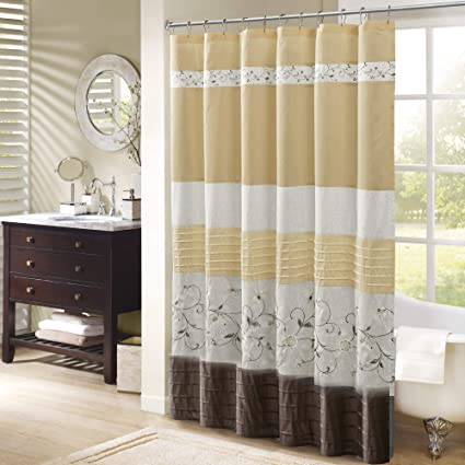 Image Unavailable Not Available For Color Madison Park Serene Shower Curtain Yellow