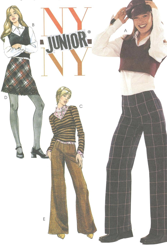 McCall 4156 - Patrones de costura para pantalón de bies y falda de ...