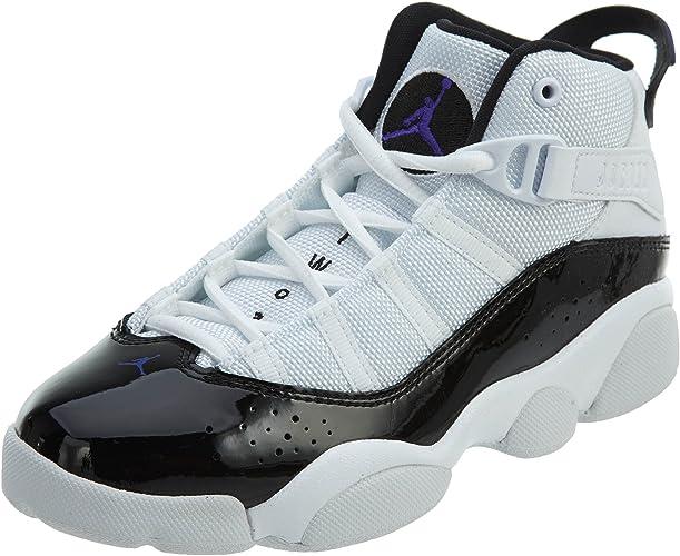 Amazon.com: Nike PS Jordan 6 - Zapatillas de baloncesto para ...