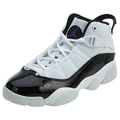 outlet store c6c7c 86c84 Nike PS Boys' Jordan 6 Rings Basketball Shoes