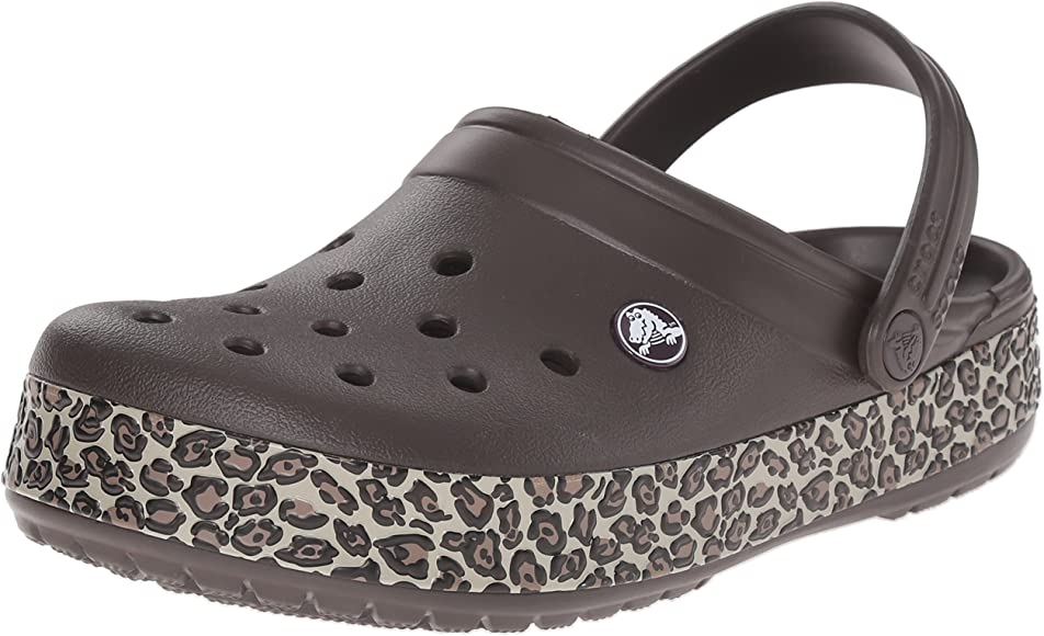 Crocs Unisex Crocband Animal Print Clog