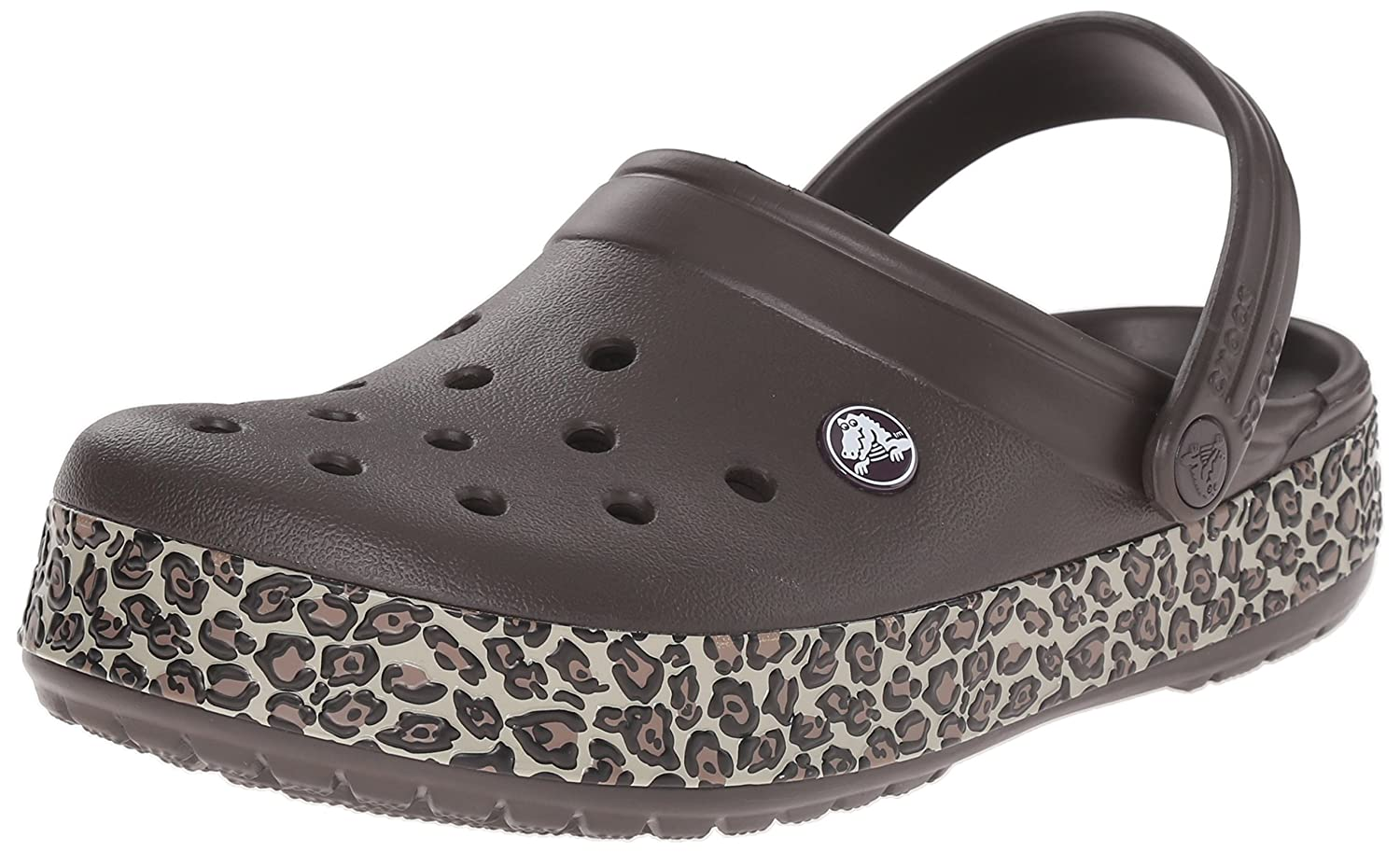 exquisite design well known official photos Crocs Unisex Crocband Animal Print Clog Mule
