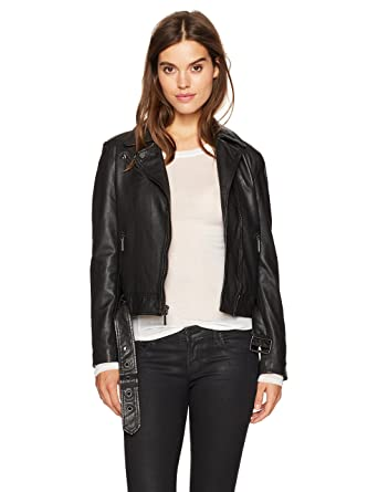 c7c0c0c04e2c7 Kenneth Cole New York Classic Motorcycle Jacket at Amazon Women s Coats Shop