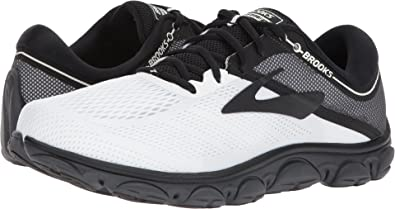 774e2719ada Brooks Men s Anthem White Grey Black 10 D US  Amazon.co.uk  Shoes   Bags