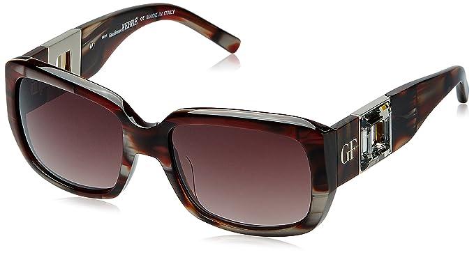 41af60e5071 Image Unavailable. Image not available for. Colour  Gianfranco Ferre  Gradient Rectangular Women s Sunglasses ...