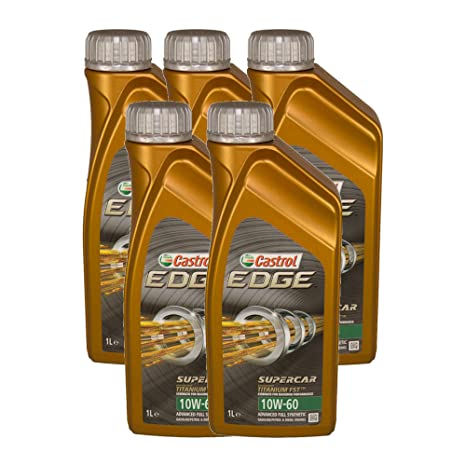 Castrol Edge Supercar 10 W-60 5 x 1 litro Acea A3/B3,
