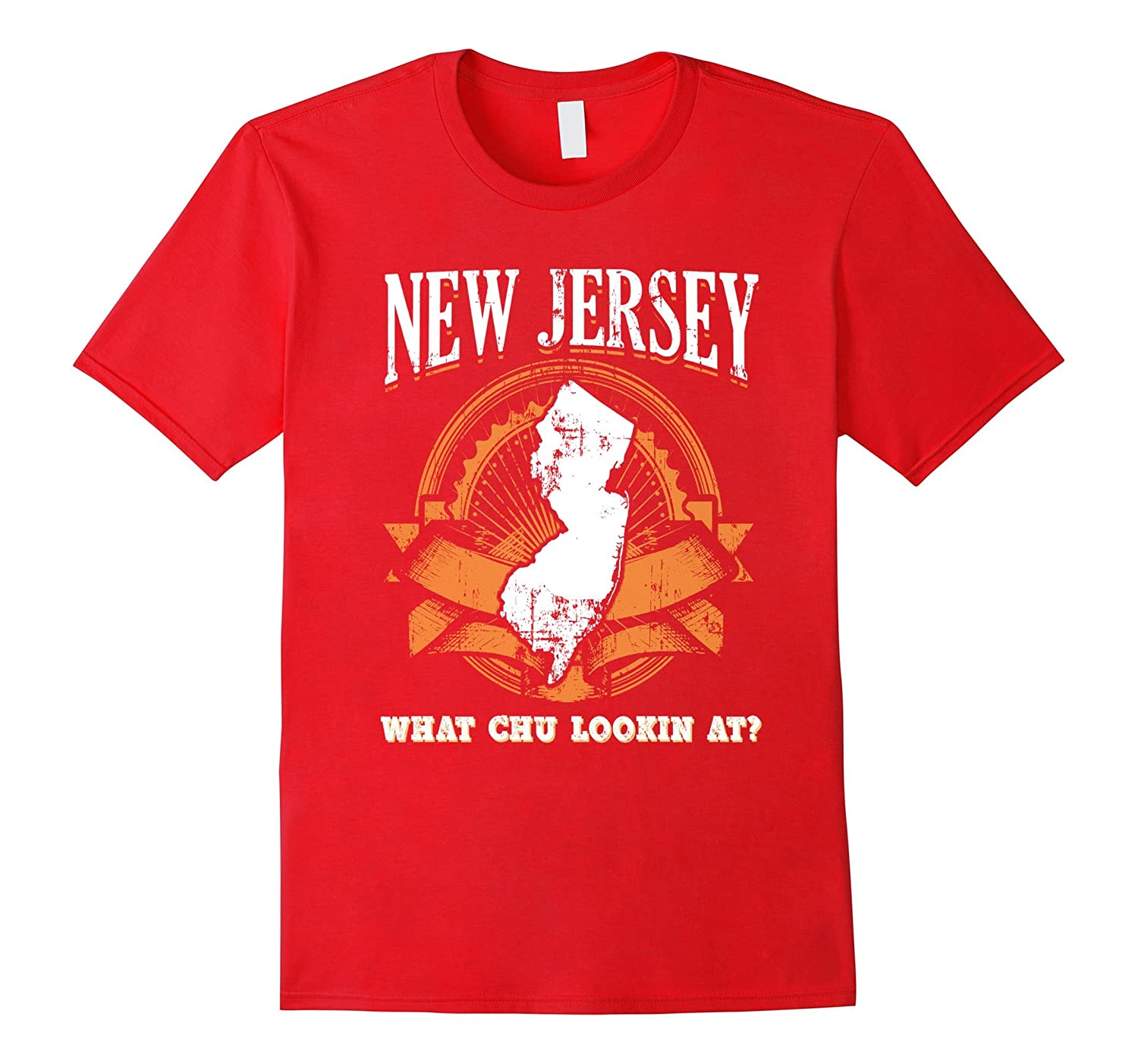 New Jersey Funny Shirt Fake State Motto Slogan Gag Gift USA-Vaci