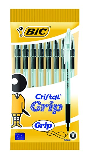 BIC Cristal Like Me Ballpoint Pen - Blue (Pack of 4): Amazon.co.uk: Office  Products