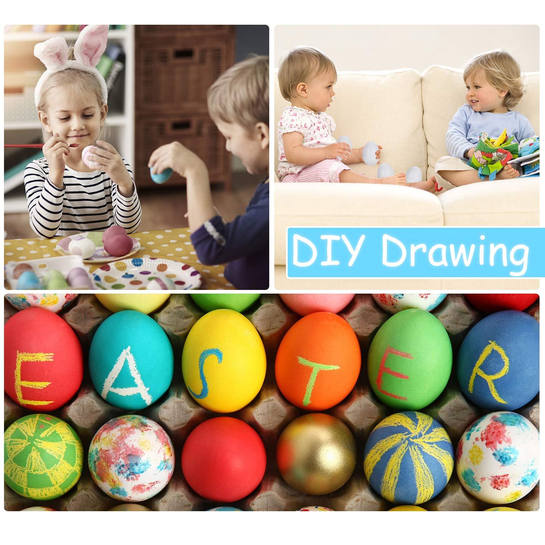 Anleolife Color Shape Matching Egg Set, Preschool Montessori Toys for Toddler Games, Educational Color Recognition Skills Learning by Anleolife (Image #5)