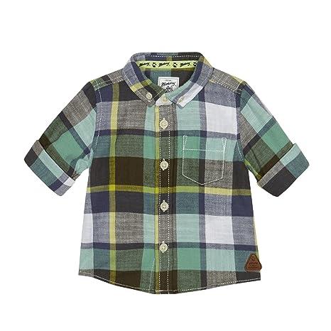 new product c61e2 27520 Mantaray, bimbo, verde a quadretti camicia verde green 18 ...