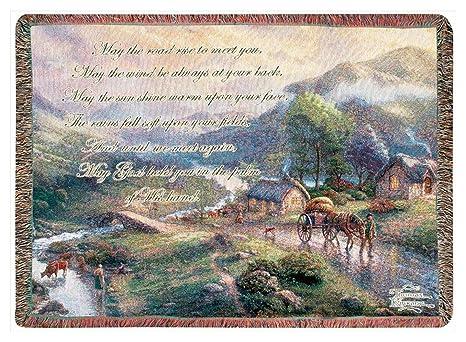 Amazon.com: Just Contempo – Manta Esmeralda Valley Tapestry ...
