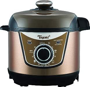 Toyomi PC 3070 Electric Pressure Cooker, 3.0L