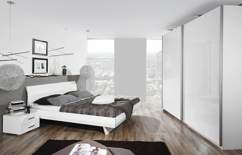 Amazon.de: rauch schlafzimmer tira weiss 4 teilig mit ...