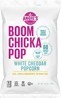 product image for Angie's BOOMCHICKAPOP White Cheddar Popcorn, 4.5 Ounce Bag
