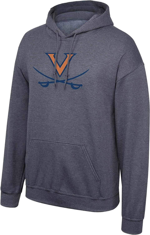 Elite Fan Shop NCAA Hoodie Sweatshirt Dark Heather Icon