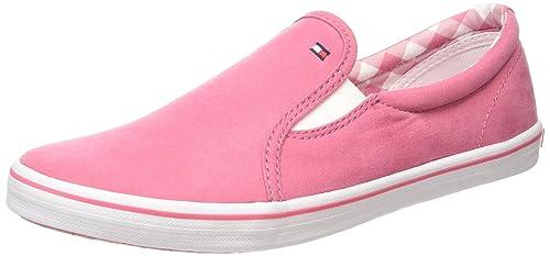 Tommy Hilfiger S3285LATER 8D-1, Mocasines para Niñas, Rosa-Pink (Rapture Rose 602), 33 EU: Amazon.es: Zapatos y complementos