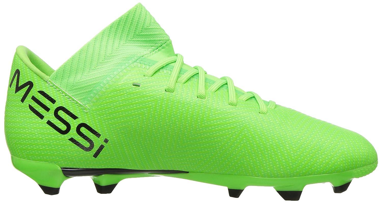 c753a2585 adidas Unisex-Kids Nemeziz Messi 18.3 Firm Ground Soccer Shoe, Solar  Green/Black/Solar Green, 6 M US Big Kid: Amazon.co.uk: Shoes & Bags