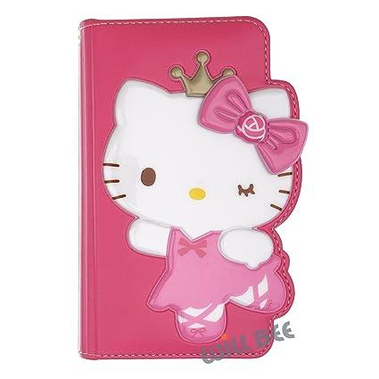 d286eaadaf Amazon.com  Galaxy S7 Edge Case Hello Kitty Cute Diary Wallet Flip ...