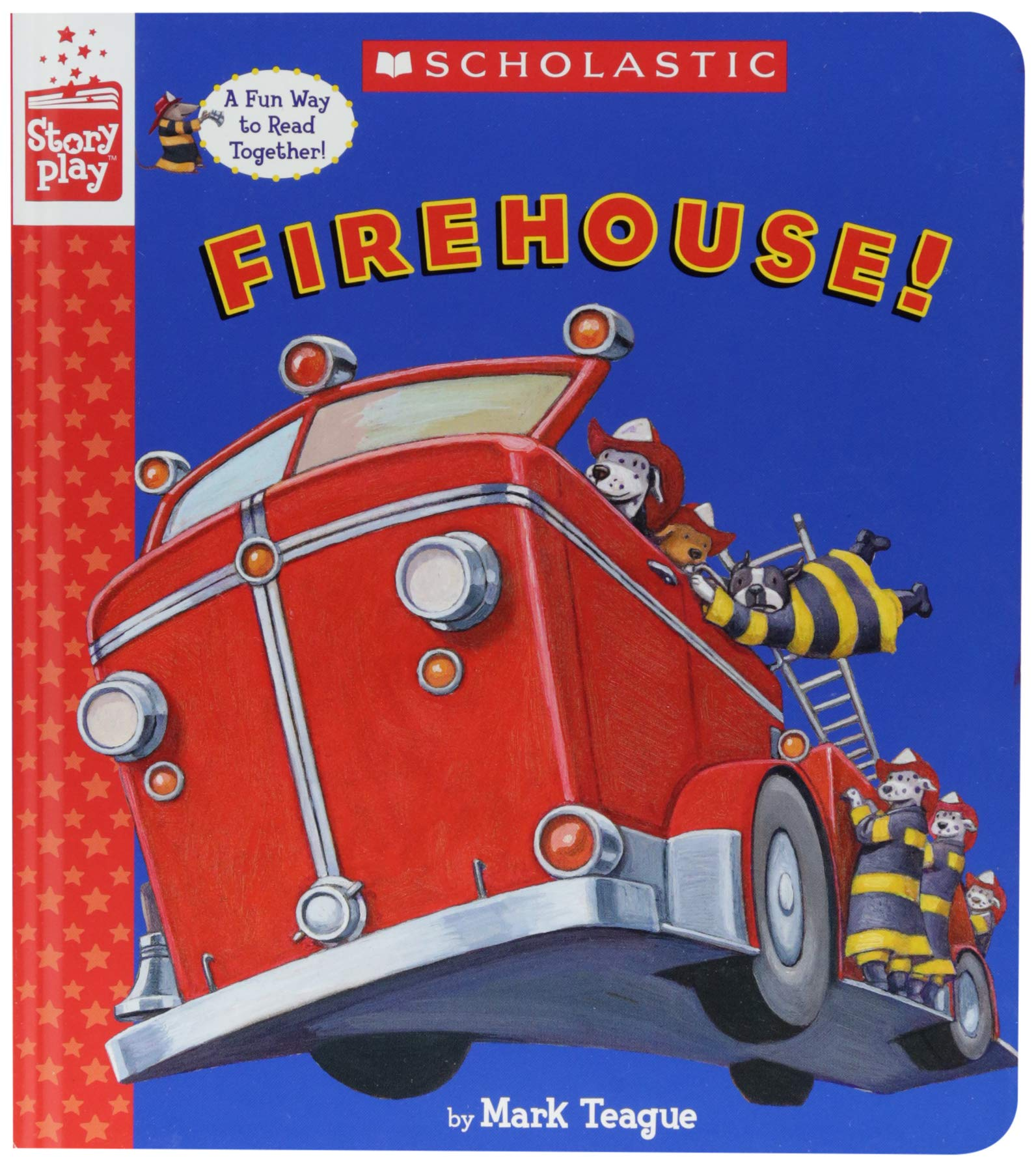 Download Firehouse! (A StoryPlay Book) pdf
