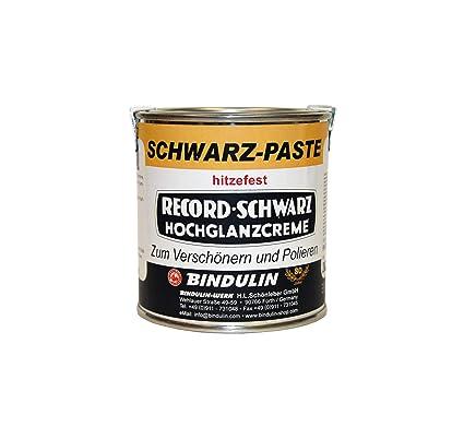 Horno wichse Negro Pasta 200 ml Lata Record de Negro (eléctrico placas de color crema